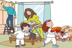 Reparto tareas-familia