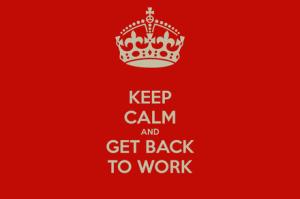 back work