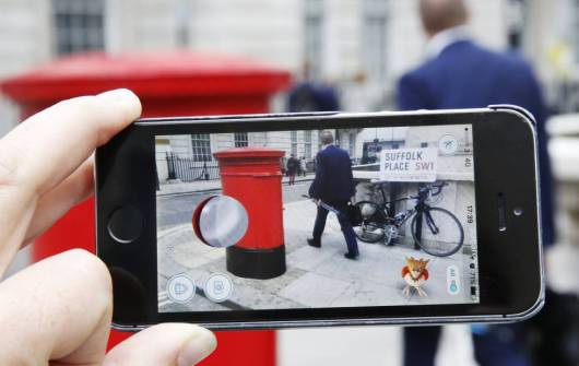 Pokemon go- Foto de Olivia Harris para El País