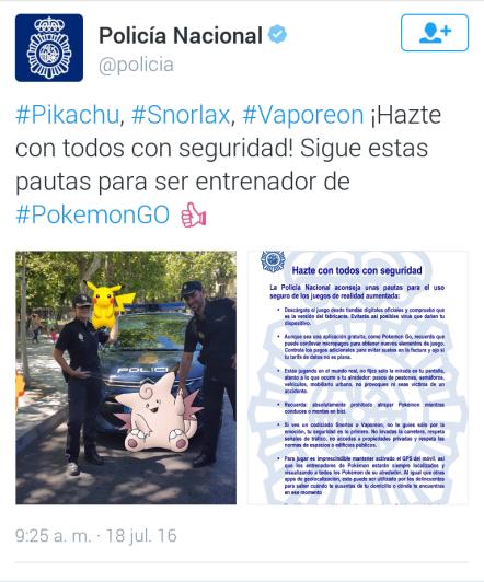 Policía Pokemon