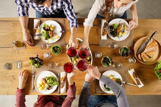 comidas sociales